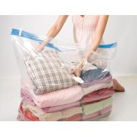 China Transparent cube vacuum compressed storage bag for quilts on sale