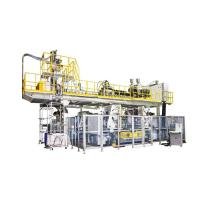 China Co-Extrusion 3 Layer, Double Station Blow Moulding Machine on sale