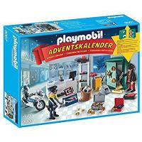 PLAYMOBIL 9007 Advent Calendar - Police mission (jewelry store) Manufactures
