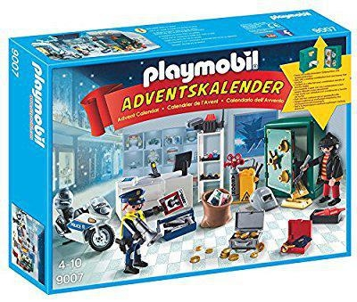 China PLAYMOBIL 9007 Advent Calendar - Police mission (jewelry store)