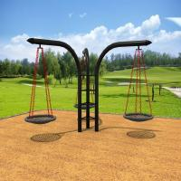 China kids metal swing sets on sale