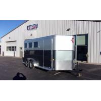 China 2018 CHARMAC 7′ X 17′ RENEGADE 3 HORSE BUMPER PULL TRAILER on sale