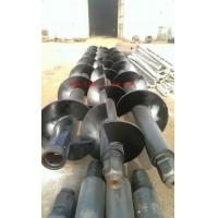 core barrels mutiple shaft auger with mixing paddlles for Deep soil mixing (DSM)