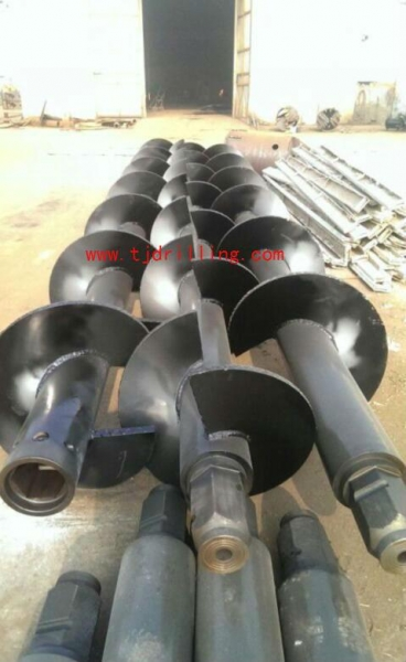 Quality core barrels mutiple shaft auger with mixing paddlles for Deep soil mixing (DSM) for sale