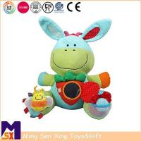 Baby Developmental Toys Musical Soft Donkey Baby Interactive Toy Manufactures
