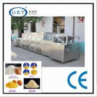 Industrial stainless steel egg yolk powder microwave drying machine Manufactures