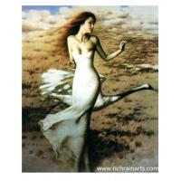 Woman Protrait Fary Oil Painting Fary Manufactures