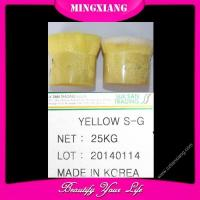 Chemical Dyestuff YELLOW S-G Manufactures