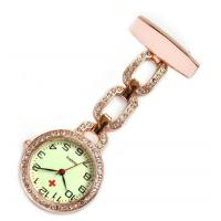 Buy cheap China Nurse Watch with rainstone crystals(NS5500B) Rose gold plated from wholesalers