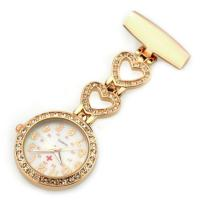 Buy cheap Amazon hot selling New Design Alloy Nurse Watch -5372B Gold plated from wholesalers