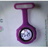 Buy cheap Digital Silicone Medical Nurse Watch Fob with safety pin- NS888 from wholesalers