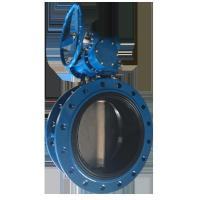 China concentric flanged butterfly valve on sale