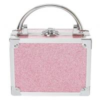 Pink Glitter Lock Box Cosmetic Set Manufactures