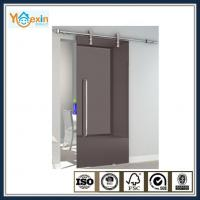 Frameless Glass wall mounted sliding door hardware system Manufactures