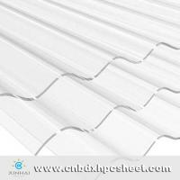China Embossed Corrugated Polycarbonate Sheet on sale