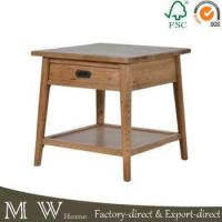 China Square Wood End Tables with Drawers on sale