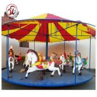 New design horse rider machine electronic used coin operated carousel with high quality Manufactures