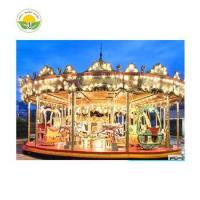Quality Brand new horse rider machine carousel horses with great price for sale