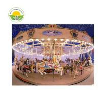 Buy cheap Hot sale outdoor amusement rides carousel horses with low price from wholesalers
