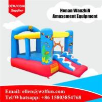 Quality Commercial indoor inflatable bouncer , inflatable kids bounce house for sale