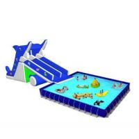 Quality China rectangular metal frame pool and above ground swimming pool and frame pool for sale