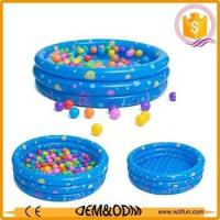 Quality Lovely kids mini inflatable swimming pool water games pool for sale for sale