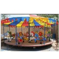 Buy cheap Outdoor amusement park 24 seats carousel theme park merry go round for sale from wholesalers