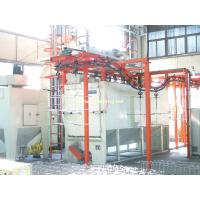 Double-station Suspended Chain Shot Blasting Machines Manufactures