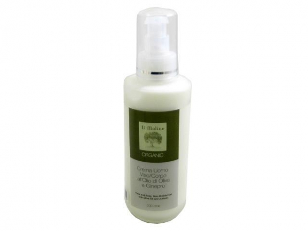 Quality Organic Olive Oil Face and Body Cream for Men by Il Molino for sale