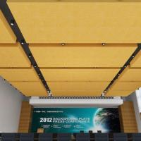 Ornaments Solid Color Lightweight PET Ceiling Better Than Wooden Tile