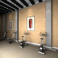Acoustics Panels Polyester Sound Absorbing Material Gym Wall Panel Manufactures