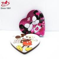 China Cute heart shape metal tin wedding favor box /cookies container wholesale on sale