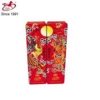 TD food package tin box with Chinese dragon and phoenix Manufactures