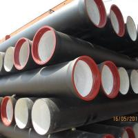 China Ductile Iron K9 Pipes for Drinking Water on sale