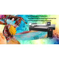 High speed and quality digital printing for cotton, silk, hemp (linen), and rayon.