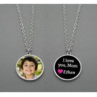 Makes 10 Double Sided Photo Charms Necklace Kit 1 Inch