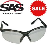 Anti-Fog Scratch-Resistant High-Impact CLEAR Polycarbonate Lens Safety Glass