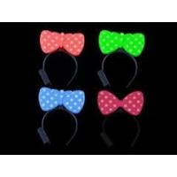 Blinking LED Light Headband Dot Bow Party Costume X 2pcs Manufactures