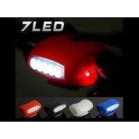 3-Mode 7 LED Silicone Frog LED MTB Mountain Bike Light Manufactures