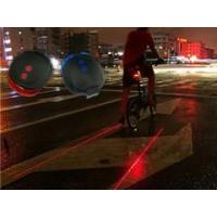 5 LED 2 Laser line Star Mountain Bicycle Bike Cycle Rear Tail Warning Lamp Light Manufactures
