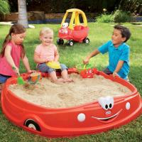 China Sand and Water Play Cozy Coupe Sandbox on sale