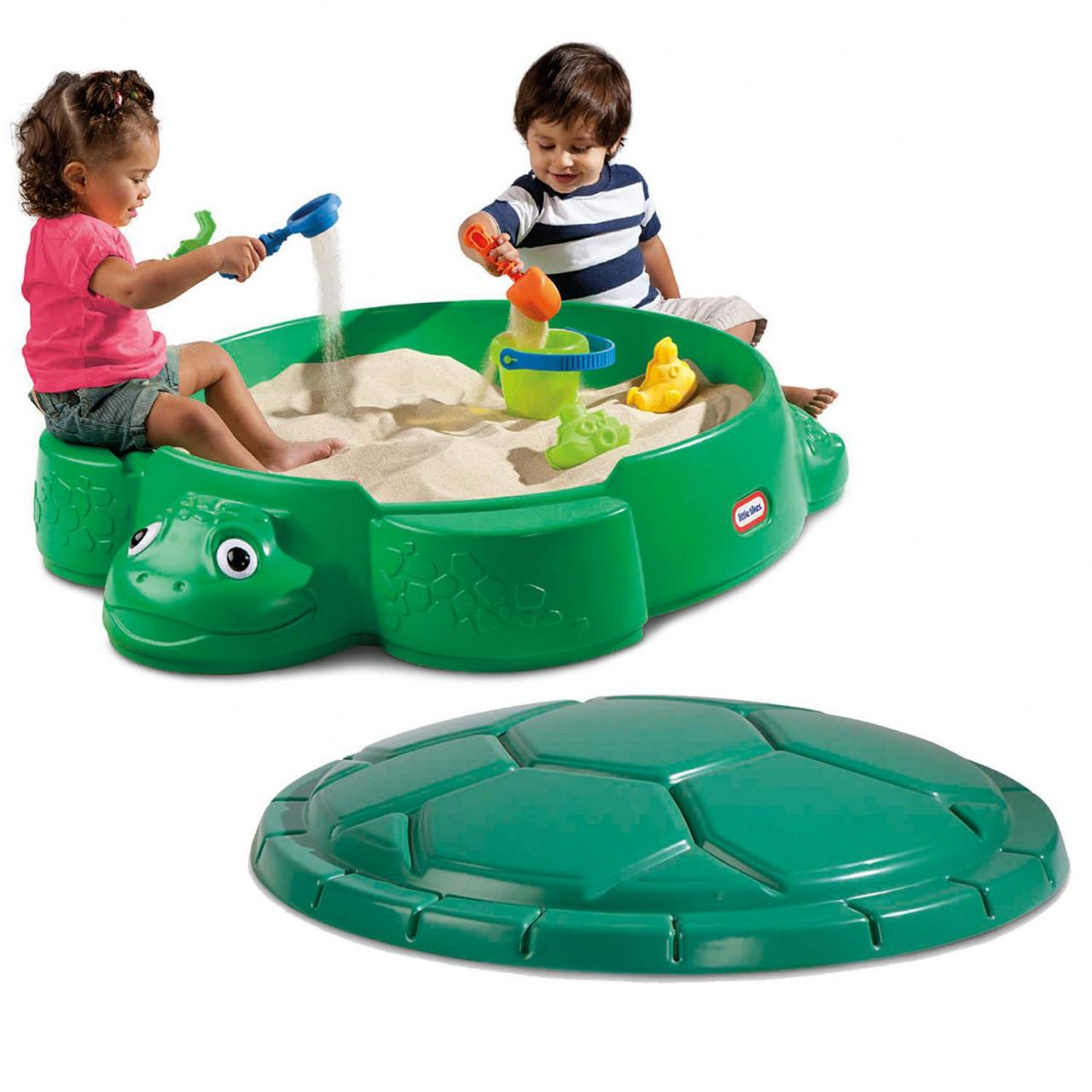 Sand and Water Play Turtle Sandbox Manufactures