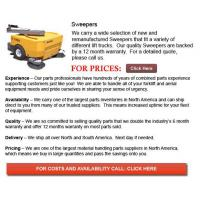 China Forklift Parts For Sale Attachment for Sweeper on sale