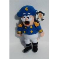 10 Cap'n Crunch; Plush Stuffed Toy Doll; From Quaker Oats Cereal by Quaker Manufactures