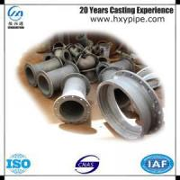 ISO9001 Ductile Iron Pipe Fittings Double Flanged Pipes Manufactures