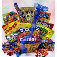 Tutti Fruity Candy Gift Basket Manufactures