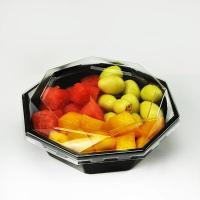 China Large Disposable Plastic Salad Bowls With Lids on sale