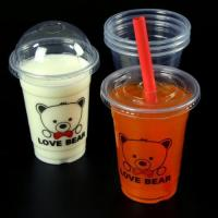 Buy cheap PP Clear 14oz Plastic Cups with lids from wholesalers