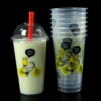 Buy cheap Top diameter 90mm 16oz Clear Plastic Cups from wholesalers