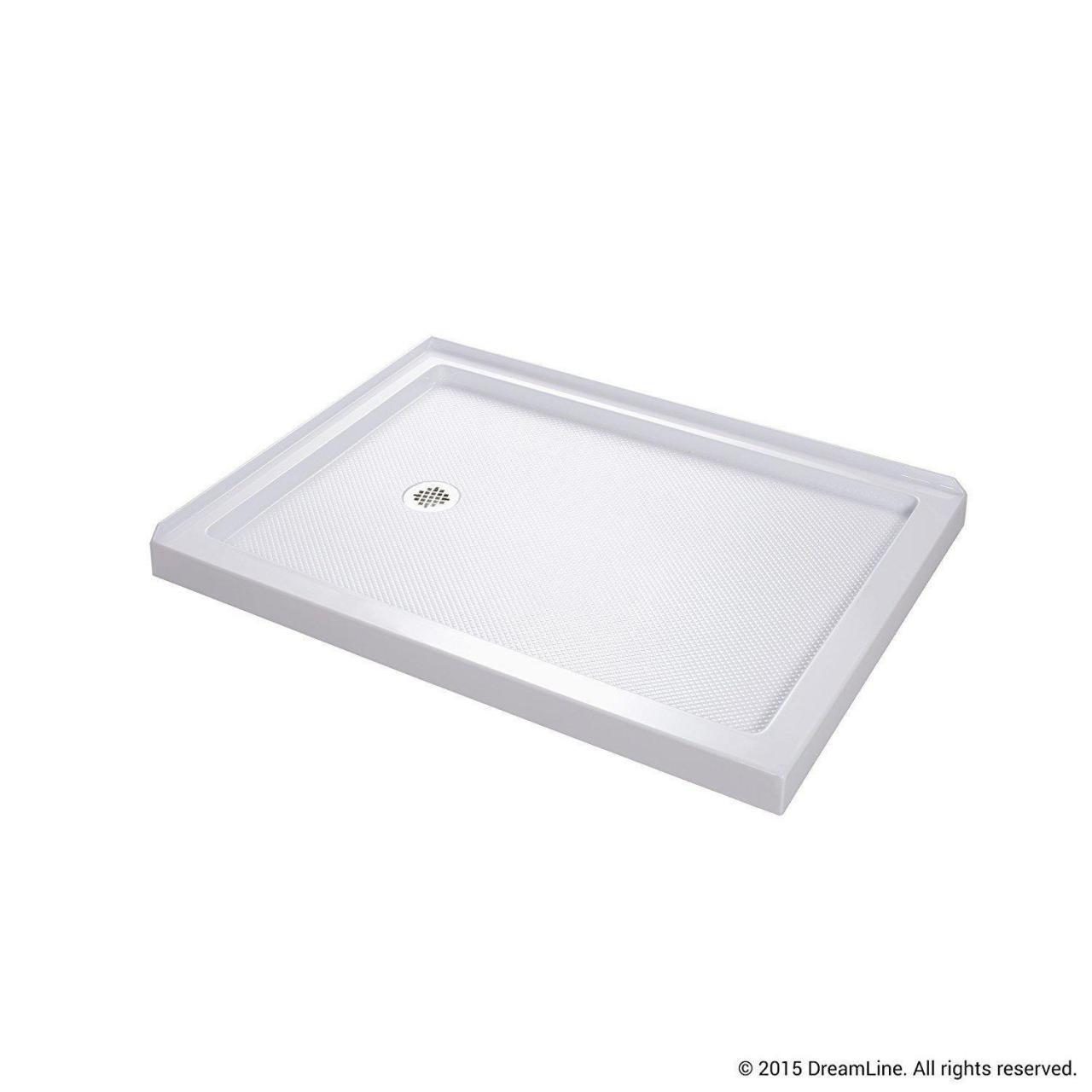 32 x 48 shower base left drain Manufactures